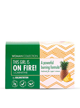 Woman Collection On Fire – L-carnitina Ananas 15 doze de la GoldNutrition