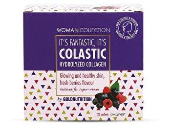 Woman Collection Colastic – Colagen hidrolizat Fructe de padure 20 doze de la GoldNutrition