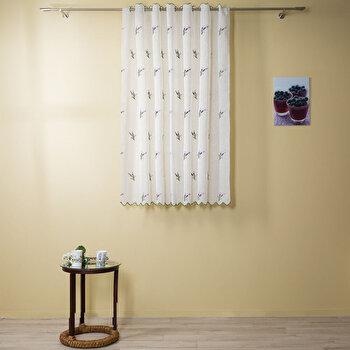 Perdea Mendola Fabrics Agata, 10-175AGATA, Poliester 100 procente, 140 x 160 de la Mendola Fabrics