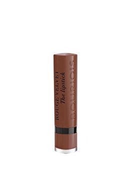 Ruj de buze Bourjois Rouge Velvet The Lipstick, 23 Taupe Of Paris, 2.4 g de la Bourjois