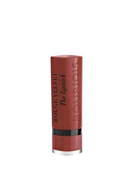 Ruj de buze Bourjois Rouge Velvet The Lipstick, 24 Pari, 2.4 g de la Bourjois