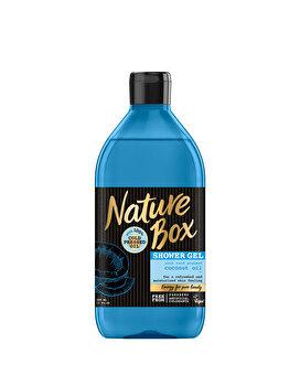 Gel De Dus Nature Box Cocos, 385 ml de la Nature Box