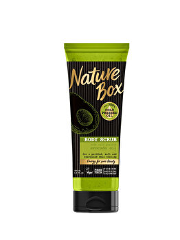 Scrub Nature Box Avocado, 200 ml de la Nature Box