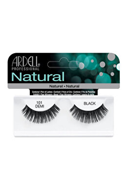 Gene false, Ardell Natural, 101 Demi Black de la Ardell