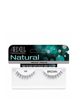 Gene false Ardell Natural, 108 Demi Brown de la Ardell