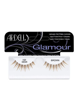 Gene false Ardell Glamour, 102 Demi Brown de la Ardell
