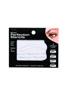 Sablon pentru forma sprancenelor Ardell Brow Perfection Stencils