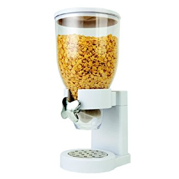Dispenser pentru cereale Vanora VN-XF-005, alb de la Vanora