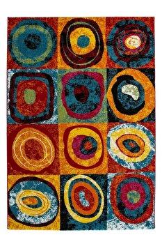 Covor Decorino, Modern & Geometric, polipropilena, C04-011408, 80×150 cm, de la Decorino