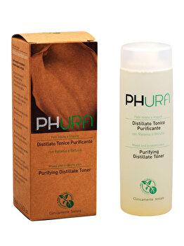 Lotiune tonica purifianta pentru ten mixt si probleme acneice, 200 ml de la Phura