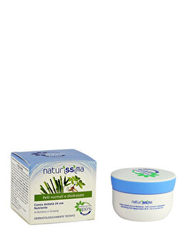 Crema antirid 24 ore nutritiva pentru ten normal, 50 ml de la Naturissima