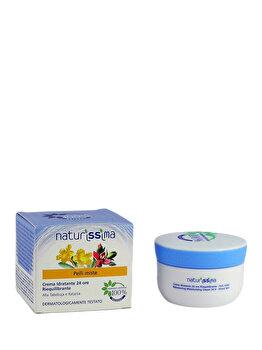 Crema hidratanta si sebo-reechilibranta 24 ore pentru ten mixt, 50 ml de la Naturissima