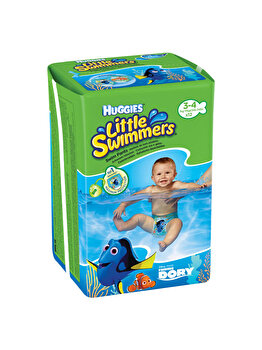 Huggies – Chilotei impermeabili Little Swimmers 3-4, 12 buc, 7-15 kg de la Huggies