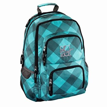 All Out – Rucsac scolar Louth Blue Dream Check, 13x45x31 cm de la Hama