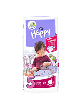 Scutece Happy Junior, 42 buc de la Happy