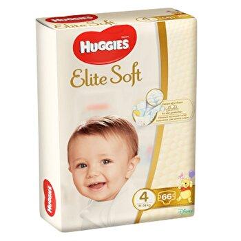 Scutece Huggies elite soft (4) mega 66- (8-14kg) de la Huggies