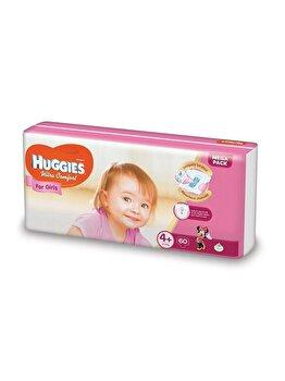 Scutece Huggies ultra confort girl 4+ (60) 10-16kg de la Huggies