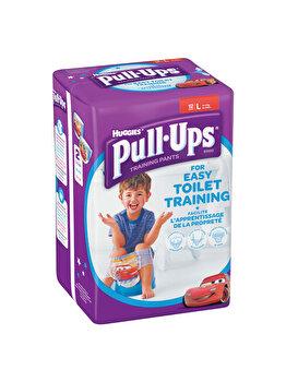 Scutece-chilotel Huggies Pull-Ups 6/L, Boy, 16-23 kg, 12 buc de la Huggies