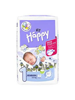 Scutece Happy New Born, 42 buc de la Happy
