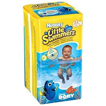 Scutece-chilotel pentru apa Huggies Little Swimmers 2-3, 3-8 kg, 12 buc de la Huggies
