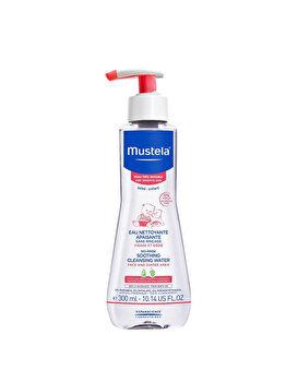 Fluid de curatare fara clatire Mustela piele sensibila 300ml de la Mustela