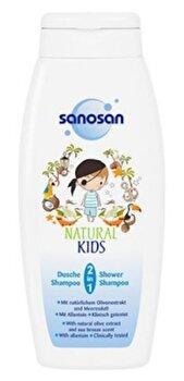 Sampon pentru copii Natural Kids 2in1, 250 ml de la Sanosan