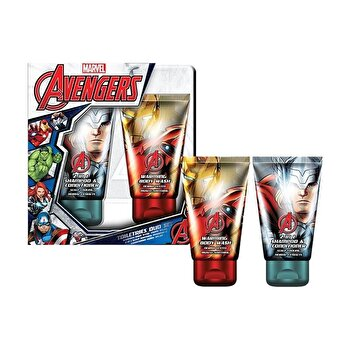 Set cadou (Gel de dus 150 ml + 2 in 1 Sampon si balsam 150 ml) de la Marvel Avangers