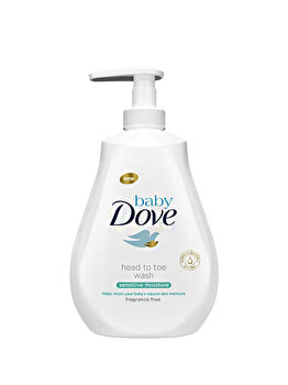 Lotiune spalare Sensitive Baby Dove, 400 ml de la Baby Dove