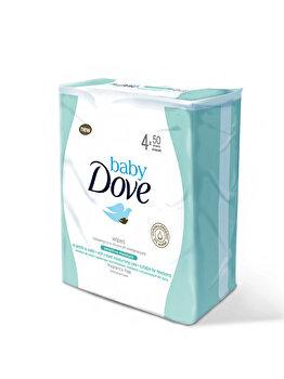 Servetele umede Sensitive Baby Dove, 4x50buc de la Baby Dove