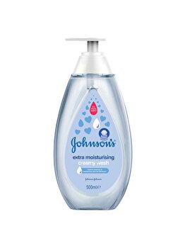 Lotiune spalare Johnson's Baby extra hidratanta 500 ml de la Johnsons Baby