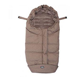 Sac de dormit pentru carucior BO Jungle Taupe cu interior fleece de la Bo Jungle