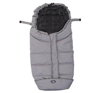 Sac de dormit pentru carucior BO Jungle Gri cu interior fleece de la Bo Jungle