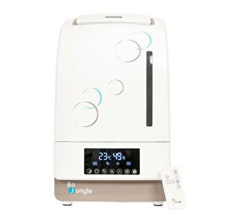 Umidificator cu telecomanda si abur rece BO Jungle, functie purificare aer, telecomanda, lumina veghe si functie aromaterapie de la Bo Jungle