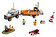 LEGO - LEGO City, Unitatea de interventie 4 x 4 60165 -