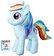 My Little Pony - My Little Pony, Ponei plus - Rainbow Dash, 30 cm -