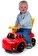 Smoby - Pompierul Sam - Masina Ride-on -