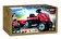 Smoby - Tractor XL cu remorca, rosu -