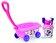 Smoby - Minnie Mouse - Carucior cu accesorii pentru plaja -
