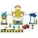 Play-Doh - Play-Doh Town, Set 3 in 1 - Centrul orasului -