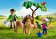 Playmobil - Playmobil Country, Veterinar cu ponei si manz -