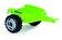 Smoby - Tractor XL cu remorca, verde -