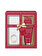 Baylis And Harding - Set cadou Midnight Fig & Pomegranate: Sare de baie pentru picioare, 25g + Lotiune pentru picioare, 50ml + Papuci Fluffy - Incolor