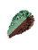 Kiko Milano - Fard de pleoape Bright Duo Baked, 07 Metallic Bamboo Green - Pearly Wood - Incolor