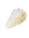 Kiko Milano - Fard de pleoape Bright Duo Baked, 08 Pearly Snow - Golden Shell - Incolor