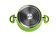 Heinner - Cratita din aluminiu, Heinner, HR-BET-GR020, 20 X 8.6 cm + Capac, 2.0 L - Vernil