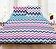 Heinner - Lenjerie de pat, Heinner, HR-4KGBED144-ZZG, 220x240 cm, 100% bumbac - Multicolor