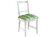 Heinner - Perna de scaun, Heinner, HR-CPAD-GRN01, 38x40x5 cm, 100% bumbac - Albastru-verde