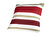 Heinner - Perna decorativa, Heinner, HR-PLW40-RED01, 40x40 cm, 100% bumbac - Alb-rosu-maro
