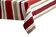 Heinner - Fata de masa, Heinner, HR-TCOV200-RED01, 150x200 cm, bumbac - Rosu-alb