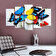 Charm - Tablou decorativ MDF (5 Piese) Charm, 223CHR1938 - Multicolor